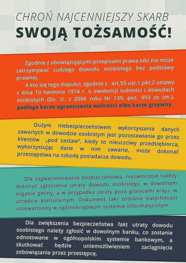 plakat bezpieczenstwo dwod
